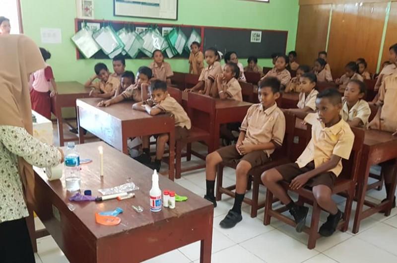 Heka Leka Goes To School di SD Negeri Seilale.