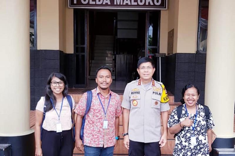 Kesempatan Bertemu Kapolda Maluku