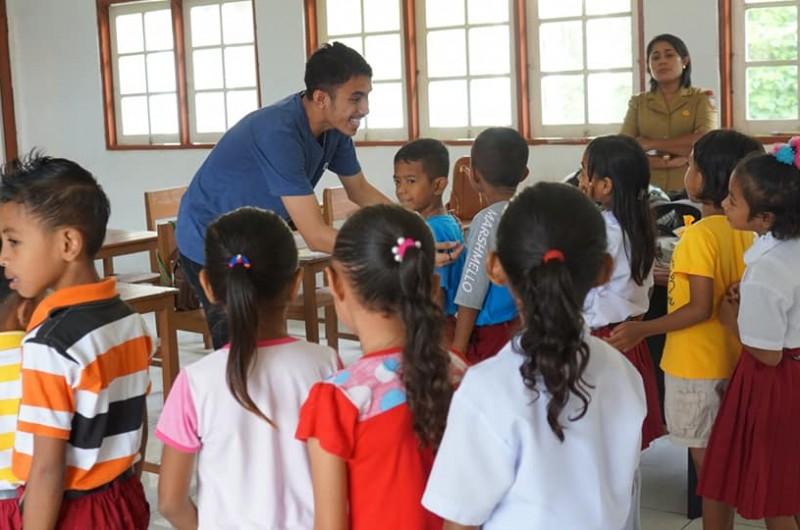 Heka Leka Goes to School di SD Negeri 1 Alang