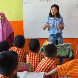 Heka Leka Goes To School di SD Negeri 62 Batu Merah