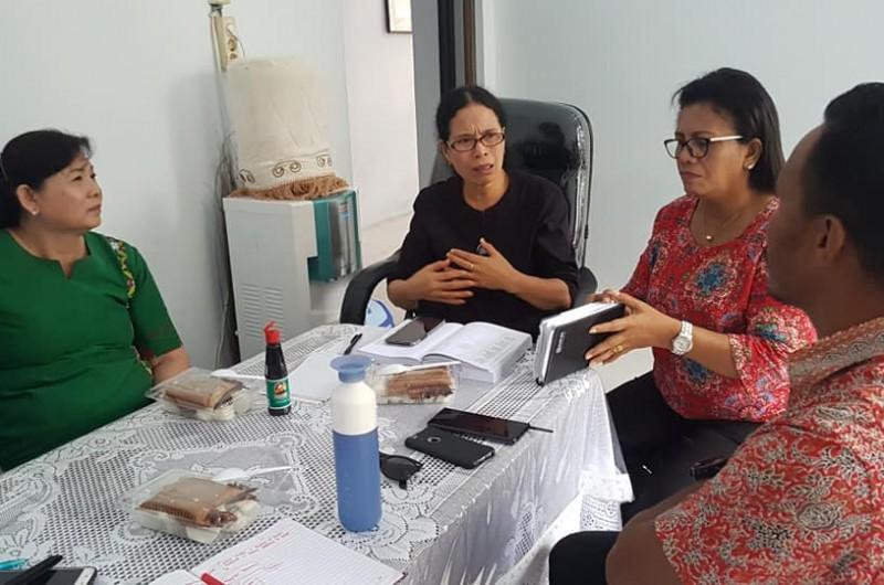 Pertemuan bersama Biro Pendidikan dan Kesehatan Sinode GPM Maluku