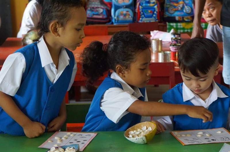 Mengenal Panca Indera Bersama TK Kristen Tiouw